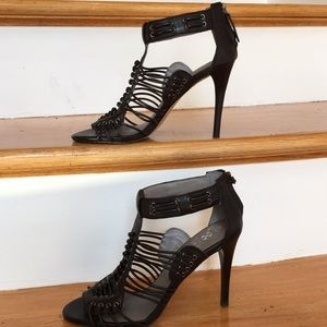 Vince Camuto high heeled sandals Edgy bold design